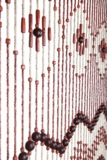 """Wooden Bead Curtain -  Lindy - 35.5"""" x 68"""" - 31 Strands"""