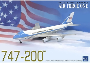 Air Force One 747-200 Model, USAF, 89th AW - Dragon Wings 56200 - click to enlarge