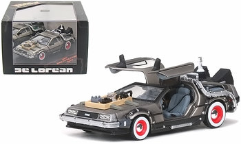 Back to the Future III DeLorean 1:43 Diecast Model - Vitesse - click to enlarge