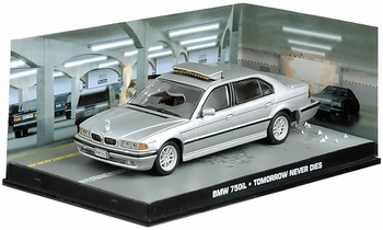 BMW 750iL Model, James Bond: Tomorrow Never Dies - Eaglemoss - click to enlarge