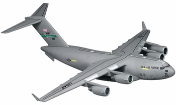 C-17 Globemaster III Model, USAF, 62nd AW - Dragon Wings 56261 - click to enlarge