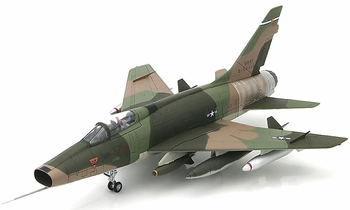 F-100D Super Sabre Model, CO ANG, 120th TFS - Hobby Master HA2117 - click to enlarge