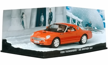 Ford Thunderbird Model, James Bond: Die Another Day - Eaglemoss - click to enlarge