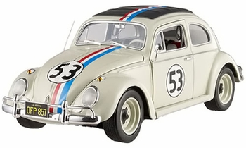 Herbie �The Love Bug� VW - Hot Wheels Elite 1:18 Diecast Model - click to enlarge