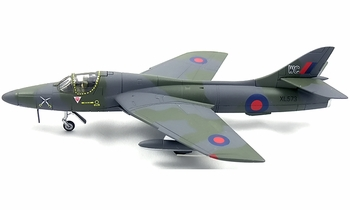 Hunter T.7 Model, RAF, 237 OCU, RAF Honnington - Corgi AA32714 - click to enlarge