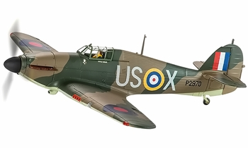 Hurricane Mk.I Model, RAF, Geoffrey Page - Corgi AA35509 1:32 - click to enlarge