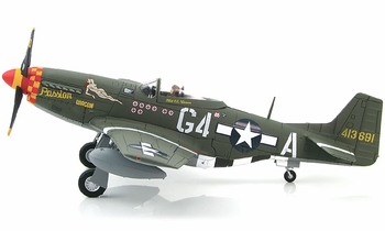 """P-51D Mustang Model, USAAF, """"Passion Wagon"""" - Hobby Master HA7727 - click to enlarge"""