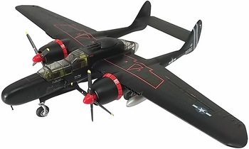 """P-61B Black Widow Model, USAAF, """"Black Panther"""" - Air Force 1 0090B - click to enlarge"""