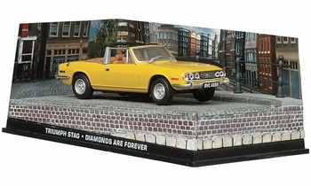 Triumph Stag Model, James Bond: Diamonds Are Forever - Eaglemoss - click to enlarge