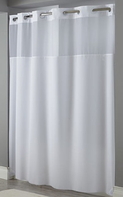 hookless shower curtain shop hampton inn hotels curtain