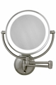 10X/1X Lighted Wall Mount Mirror