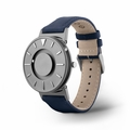 Bradley Canvas Tactile Watch in Aqua from Eone