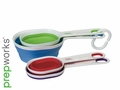 Collapsible Color Coded Measuring Cups