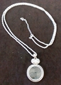 Heart and Circle Pendant Magnifier