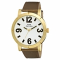 Low Vision Jumbo Fashion Watch - Bronze