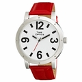 Low Vision Jumbo Fashion Watch - Red