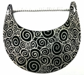 Miracle Lace Visor - Black and White Swirl