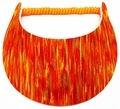 Miracle Lace Visor - Bright Multi Orange