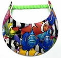 Miracle Lace Visor - Tropical Fish
