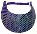 Miracle Lace Visor - Teal Glitz