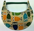 Miracle Lace Visor - Owls