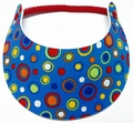Miracle Lace Visor - Blue Dots