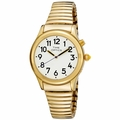 Spanish Dual Voice Men's Talking Watch - Gold Tone