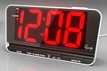 Three Inch LED Alarm Clock