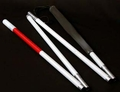 WCIB Aluminum Folding Canes - Four Section