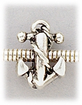 add-a-bead antique silver anchor