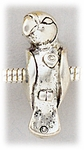 add-a-bead antique silver parrot