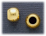 add a bead gold movable spacer bead pair