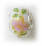 add-a-bead porcelain with pink flowers