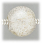 add-a-bead silver 12mm round with stardust design
