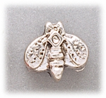 add-a-bead silver bumble bee