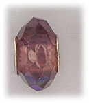add-a-bead silver med purple aurora borealis crystal