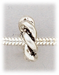 add-a-bead silver twist ring
