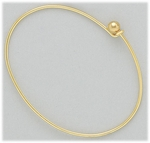 bracelet gold screw end add a bead bangle