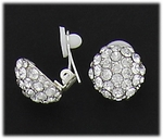 Clip on Earrings Silver