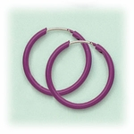 Enameled 5/8 inch continuous hoop