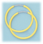 Enameled 1 inch continuous hoop