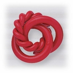 Enameled smooth twisted knot