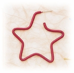 Enameled wire star