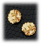 Jewelry Components Gold Butterfly Clasps 1 Pair