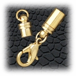 Jewelry Components Gold magnetic clasp - 1 set