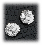 Jewelry Components Stainless Steel Butterfly Clasps - 1 Pair