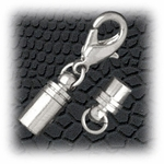 Jewelry Components Stainless Steel magnetic clasp - 1 set