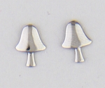 Pierced earrings posted Mushroom