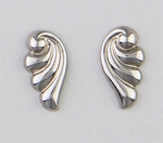 Pierced earrings posted Wave Tiny