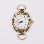 Watch Gold rectangle interchangeable face with Rings